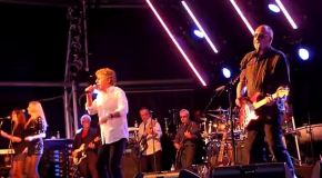 The Who at Rock n Horsepower Concert #prostatecanceruk
